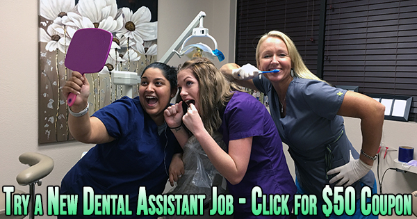 new dental assistant career